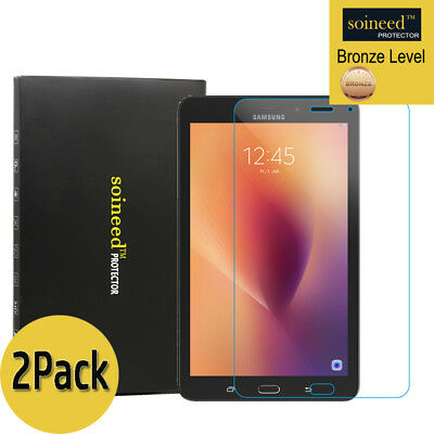 """[2-Pack] SOINEED Samsung Galaxy Tab A 8.0"""" T385 Tempered Glass Screen Protector"""
