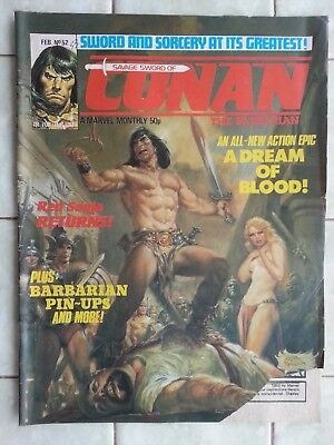 Savage Sword of Conan the Barbarian UK Monthly # 52