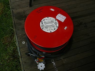 Fire Fighting Reel And Shut Off Valve