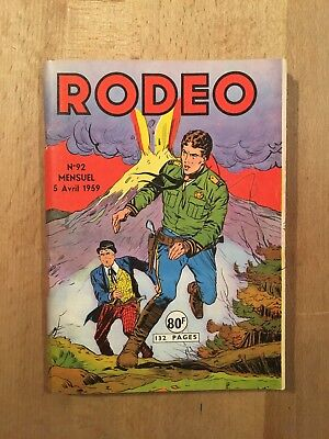RODEO numéro 92 – Editions LUG – Avril 1959 – TBE
