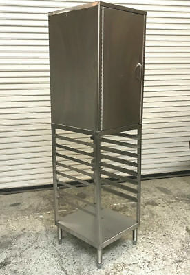 Full Size 17 Sheet Pan Rack Top 9 Enclosed Stainless Steel #7443 Commercial Bake