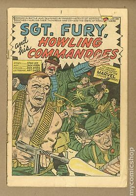Sgt. Fury #1 1963 Coverless 0.3