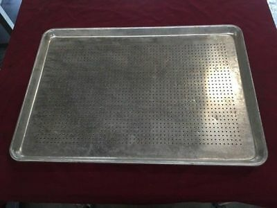 Half Size 18x13 Perforated Sheet Bakery Pan #7436 Commercial Bakeware Pans