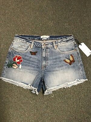 Pair Of Women's MM Vintage Denim Shorts NWTS Super Cute