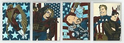 1993 Creators Universe All American Family hologrpahic set of 4 chase cards