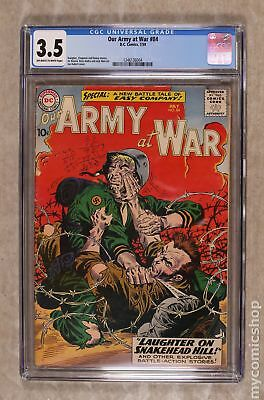Our Army at War #84 1959 CGC 3.5 1246136004