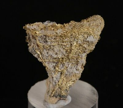 Crystallised Gold from Manhattan M.D, Nye County. Nevada