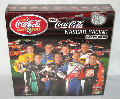 The Coca-Cola NASCAR Racing Board Game1st Edition NEW Factory Sealed!