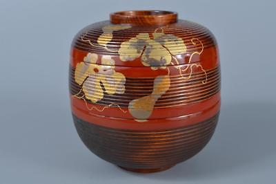 K536: Japanese Wooden Lacquer ware FOOD BOXES Jubako Lunch Box