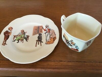 Antique Royal Doulton Nursery Rhyme 764873 cup and saucer
