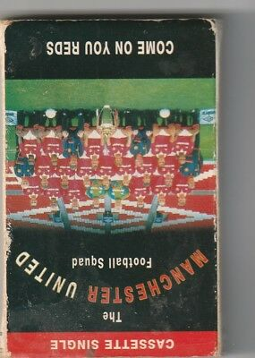 MANCHESTER UNITED  cassette    come on you  you reds