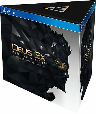 Deus Ex: Mankind Divided - Collector's Edition - PlayStation 4 / PS4 (NEU & OVP)