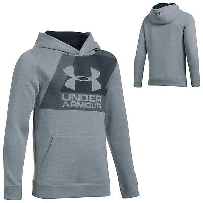 Under Armour Junior Boys Sportstyle Rival Hoodie New Kids Pullover Sweater 2018