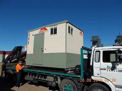 Portable Toilets - Single Sewer Connected Ablution for Hire