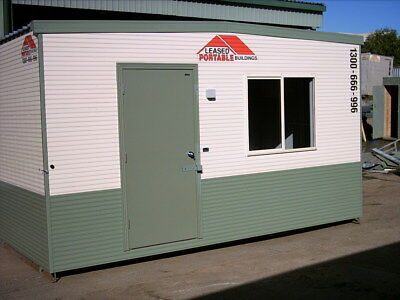 4.8m x 2.4m Portable Building / Site Shed for Hire. Quality Finish in & Out