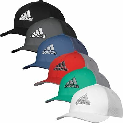 adidas GOLF MENS HAT CLIMACOOL STRETCH FIT TOUR GOLF CAP