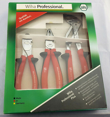 Professional Pliers Set From Wiha Germany Long Nose / Combination / Water Pump