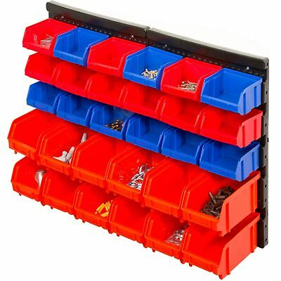Gr8 Garden 30 Pcs Wall Mounted Tool Organiser Storage Rack Board Garage Workshop