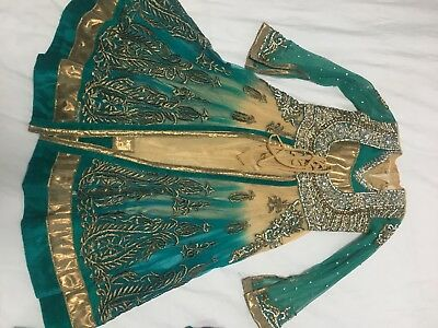 Girls kids Anarkali Dress Salwar Kameez Lengha