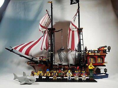 Lego Brickbeards Bounty Pirate Ship 6243 100 Complete With Great