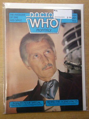 Doctor Who #84 1984 Jan British Weekly Monthly Magazine Dr Who Dalek Cybermen