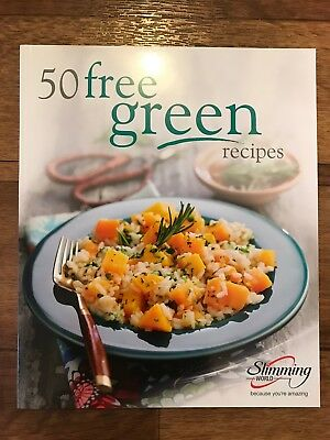 New Slimming World Cook Book -  50 Free Green Recipes - Great for Vegetarians.
