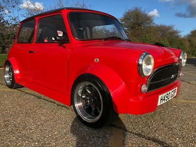1990 Rover Mini Racing Flame. 1275cc. Awesome custom Mini. Many extras.
