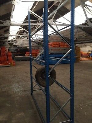 Tyre Racking, Used, In stock, Frames 3m or 6m High x 600mm Deep, Beams 1900mm
