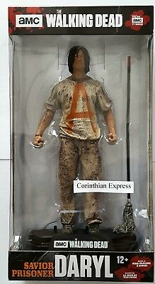 "Walking Dead TV Series Daryl (Saviour Prisoner) 7"" Figure Colour Tops MCFARLANE"
