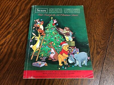 1972 Sears Wish Book Christmas Season Magazine Catalog Nice Vintage