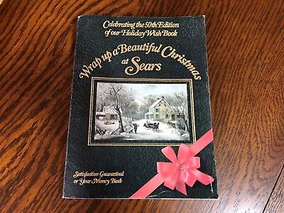 1982 Sears Wish Book Christmas Season Magazine Catalog Nice Vintage