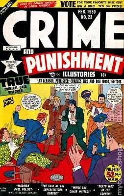 Crime and Punishment #23 1950 GD- 1.8