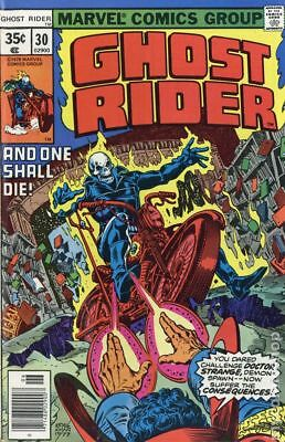 Ghost Rider (1st Series) Mark Jewelers #30MJ 1978 GD 2.0 Low Grade