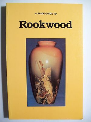 ROOK WOOD POTTERY PRICE GUIDE COLLECTORS BOOK with Vase's and more 261 pgs