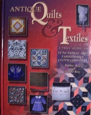 NEW ANTIQUE QUILTS PRICE GUIDE COLLECTOR'S BOOK w/ Linens Comforts Pillow Covers