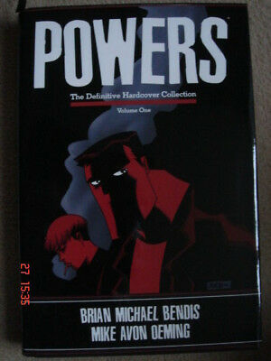 POWERS: THE DEFINITIVE HARDCOVER COLLECTION VOL 1 by Brian Michael Bendis