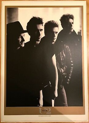 U2. LITHOGRAPHIC POSTER * TITLED WAR * MINT * 970mm x 690mm