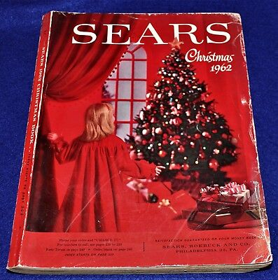Sears 1962 Christmas Catalog ,472 pages