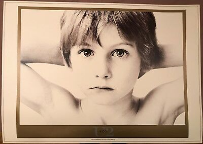 U2. LITHO POSTER * MINT * 'BOY' * 690mm x 970mm * PRINTED ON LUXURY ART BOARD