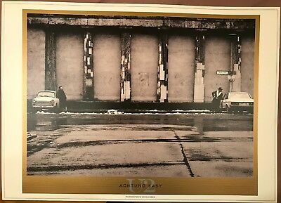 U2. LITHO POSTER * ACHTUNG BABY * 690mm x 970mm * PRINTED ON LUXURIOUS ART BOARD