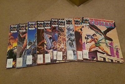 Savage sword of conan 108-117 10 issues classic bronze age readers