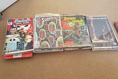 Comic collection 82 issues bronze to modern age Marvel DC Indies