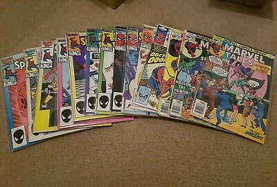 Marvel tales spiderman collection 72-191 28 issues classic covers