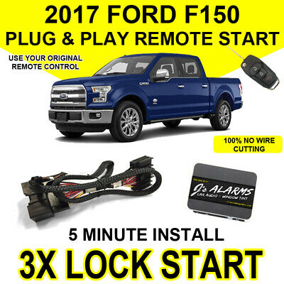2017 Ford F-150 Remote Start Plug and Play Easy Install Truck F150 3X Lock FO2