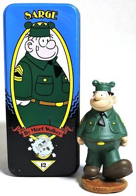 S041. SARGE by Mort Walker Classic Comic Character Series L/E Syroco #12 (2000)