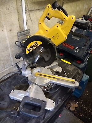 Dewalt Sliding Mitre Saw DWS73 240v, chop saw for sale