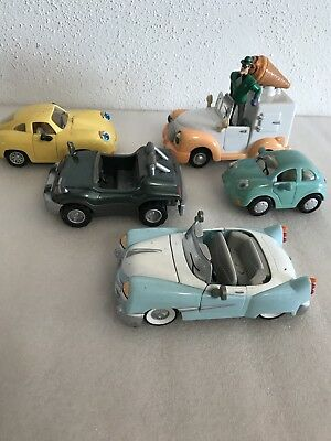 Vintage The Chevron Cars Lot Of 5 Collectible Toy Cars Della Casey Dusty Charlie