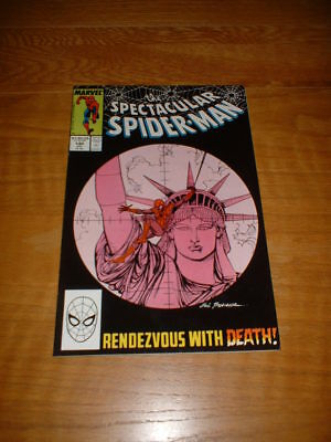 Spectacular Spider-Man 140. Nm- Cond. July 1988.                             +1