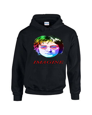 John Lennon Legend Music - Unisex Printed Hoodie - Lots Of Great Colours