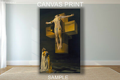 CANVAS FRAMED or ROLLED FROM A4 - Salvador Dali